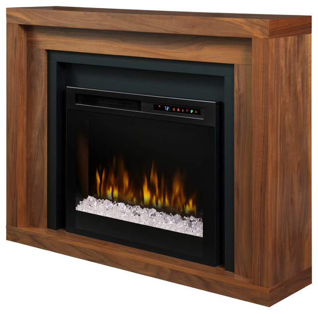 Dimplex anthony mantel electric fireplace with glass ember - Going to bed with embers in fireplace ...