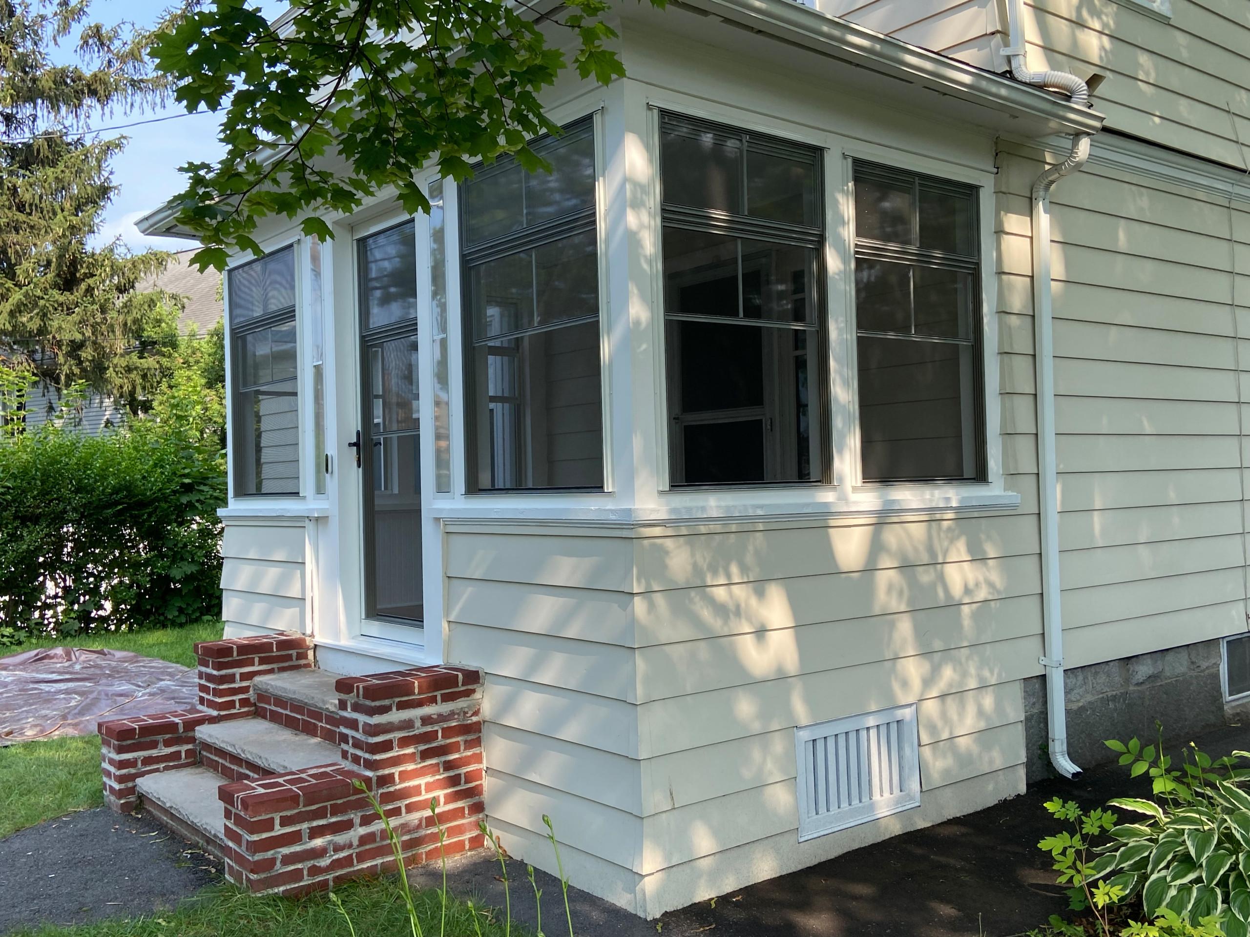 Porch Conversion.