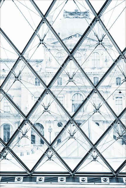 """""""Inside Louvre"""" Artwork, Unframed"""