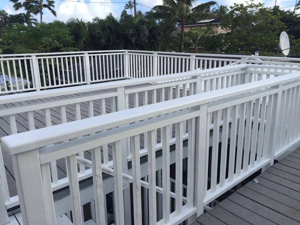 Hawaiian Getaway Rooftop Deck