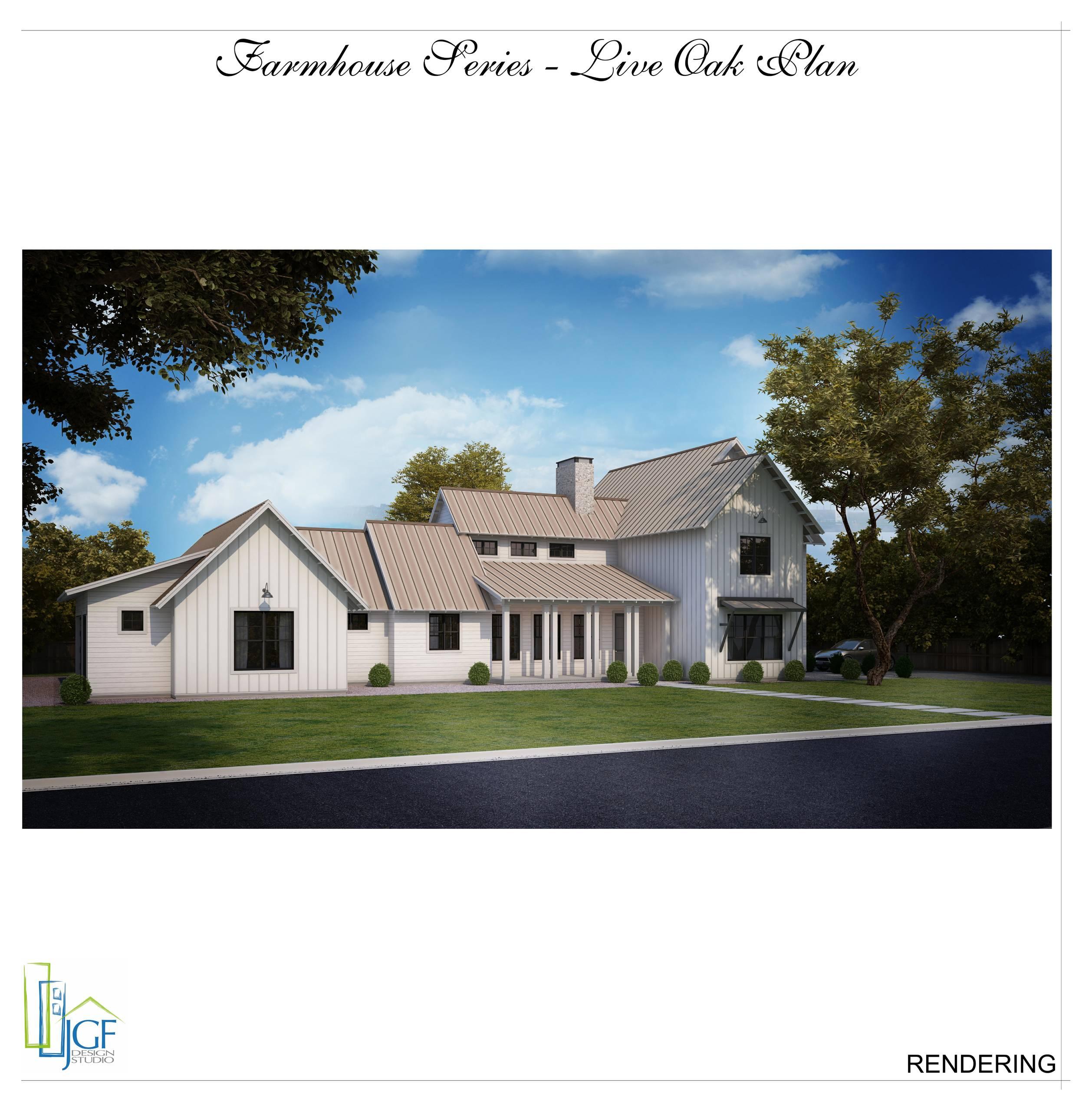 Modern Farmhouse - Live Oak Plan