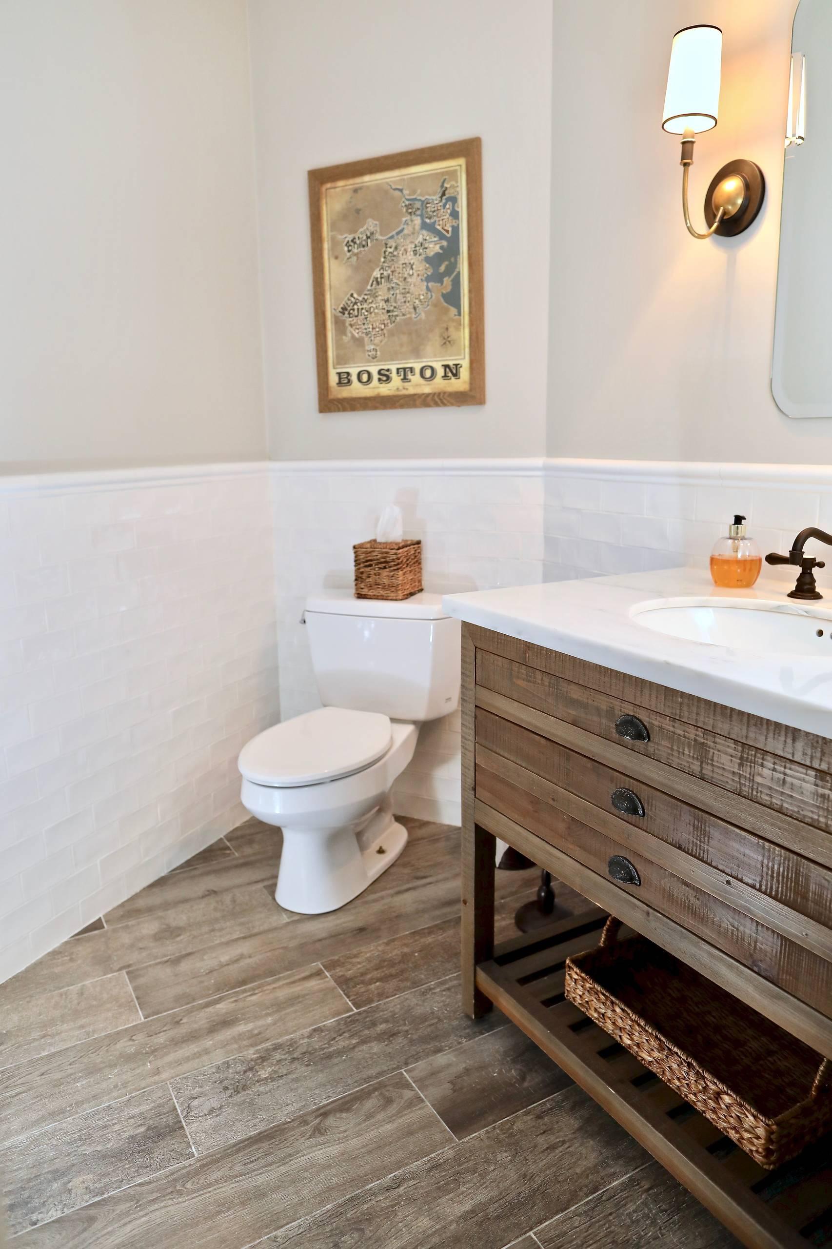 Wellesley Mudroom Bath