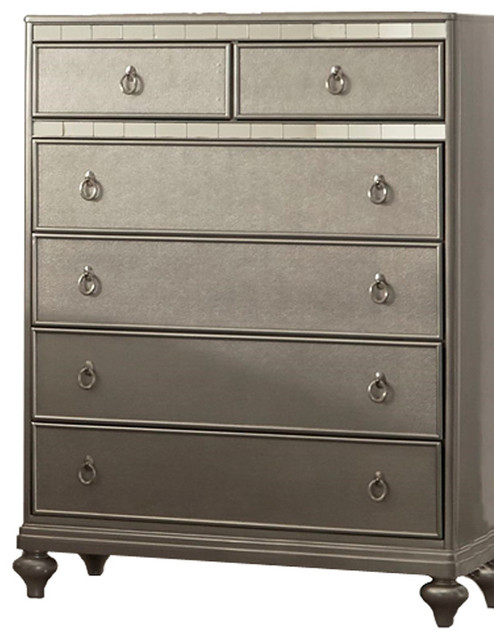 Contemporary Chest, Gold Sheen.