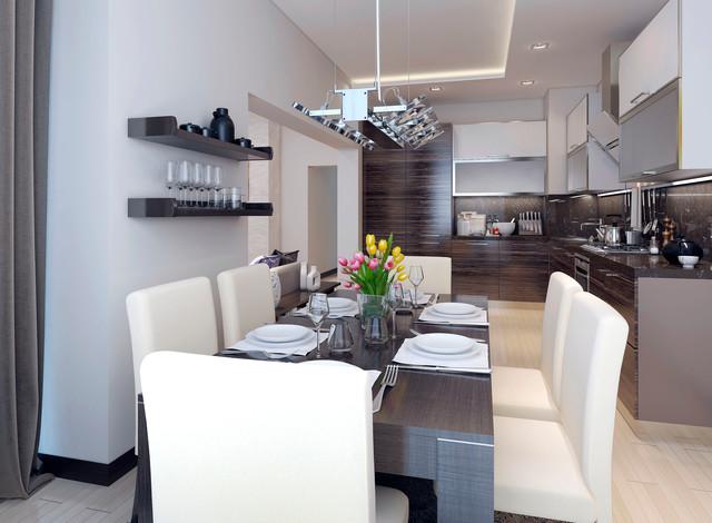 Minimalist Garage Converted Into A Kitchen Ideas: Garage Conversion To A Kitchen/Diner
