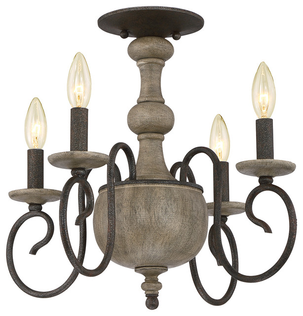 luxury french country black indoor semiflush ceiling light large