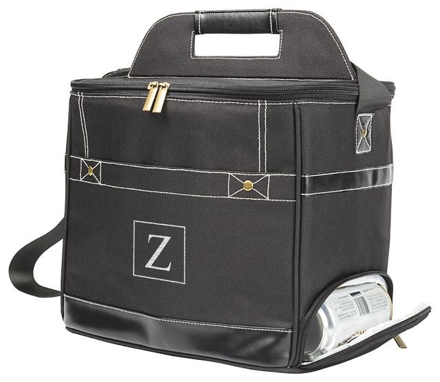 Personalized Black Can Dispenser Cooler, Black, Z.