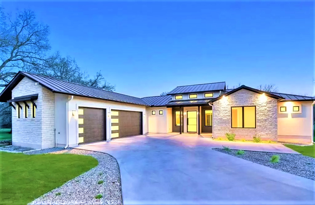 Hill Country Modern House