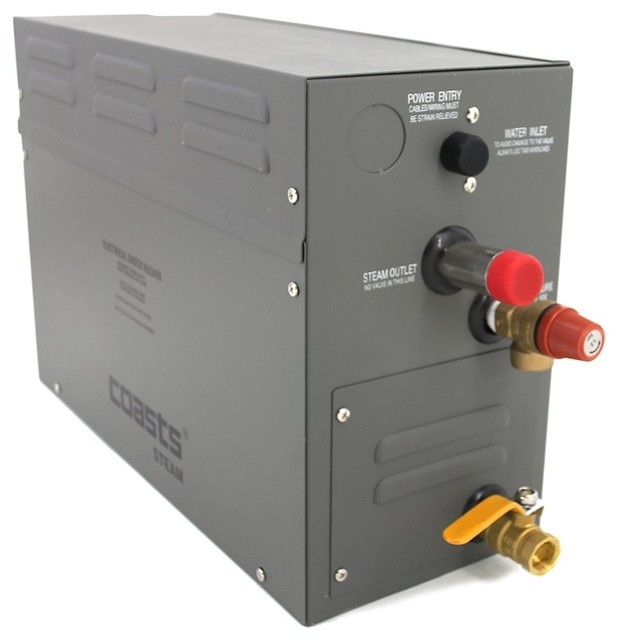 Coasts Steam Generator For Saunas 9kw, 240v With Ks-120 Controller.