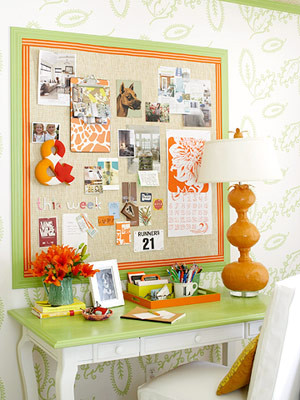 organize - inspiration area traditional home office