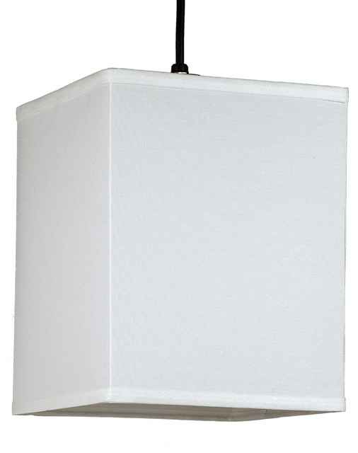 Rex Small Square Pendant Light