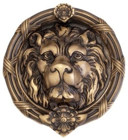 Leo Lion Door Knocker 8-3/8