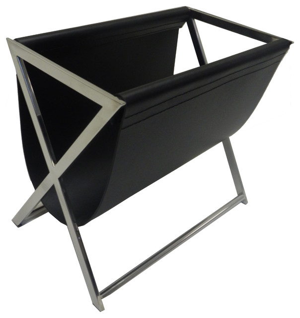 Lexington Leatherette Magazine Rack