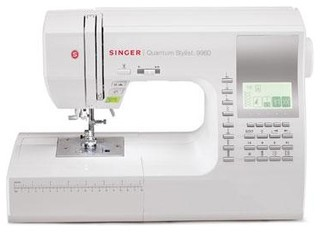 Singer 9960 Quantum Stylist Sewing Machine - Modern - Sewing Machines - by BuilderDepot, Inc.