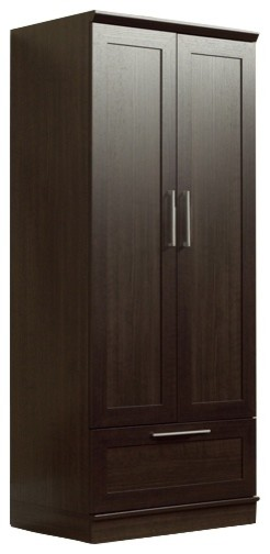 Sauder HomePlus Wardrobe Transitional Armoires And Wardrobes
