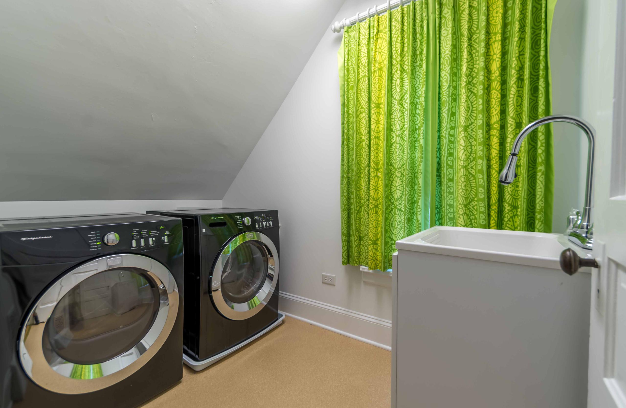 Historic Home Hidden Bath & Laundry