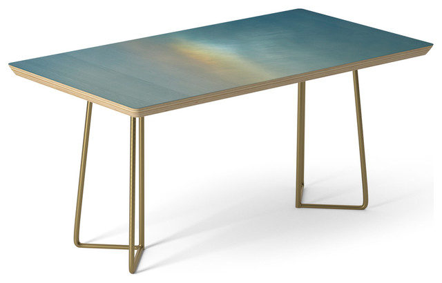 Society6 Coffee Table Birch Steel 17 Rainbows In Montreal By Lenomadecom