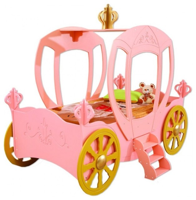 Princess Carriage Toddler Car Bed.