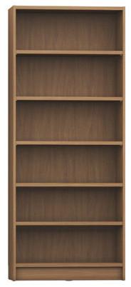 Manhattan Comfort Greenwich 6, Shelf Wide Trente 1.0 Bookcase, Maple Cream.