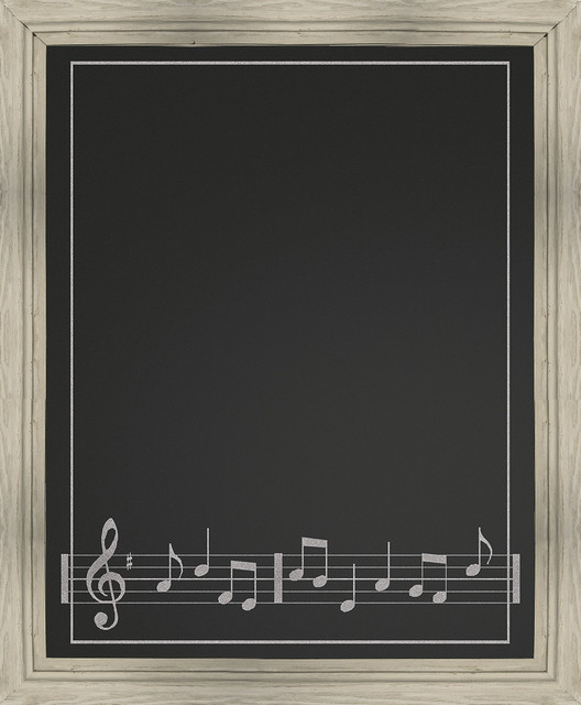 Music Chalkboard Prints And Posters By Ptm Images