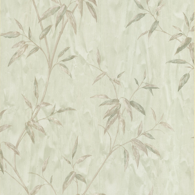 Home Wallpaper Texture bamboo light green bamboo textured wallpaper - asian - wallpaper