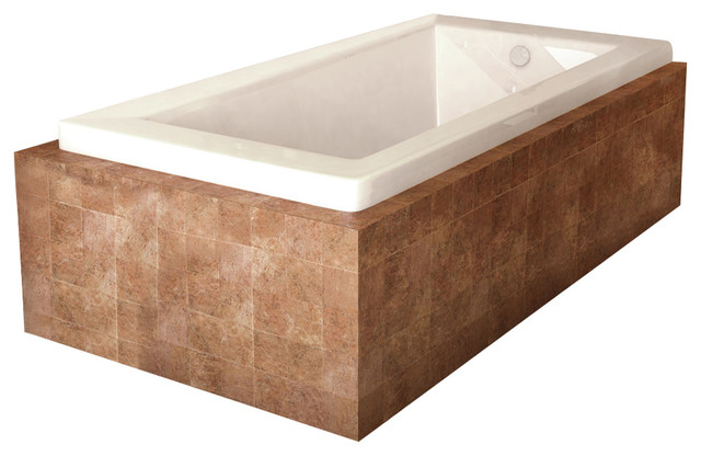 Atlantis Whirlpools Venetian 36 X 60 Rectangular Soaking Bathtub.