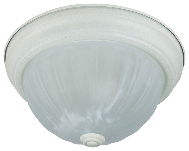 11 Decorative Dome Ceiling Fixture Texture White Alabaster Gl Transitional Flush Mount Lighting By Bulb Center