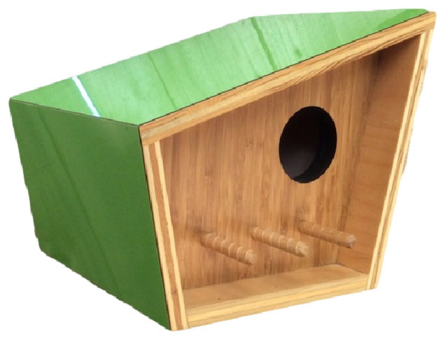 Labor Day Furniture Sale >> Midcentury Modern Birdhouse - Contemporary - Birdhouses - by Sourgrass