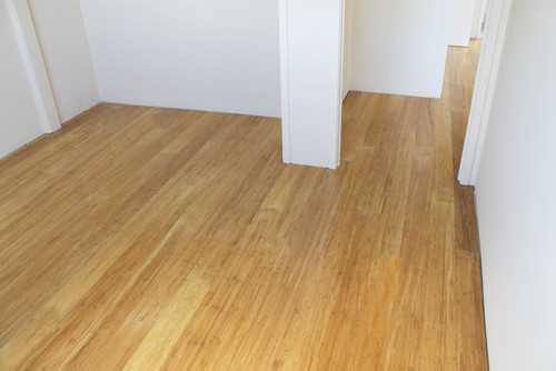 Tiled Floor Replacement Bamboo