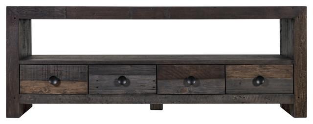 Vintage Tv Table, Gray.