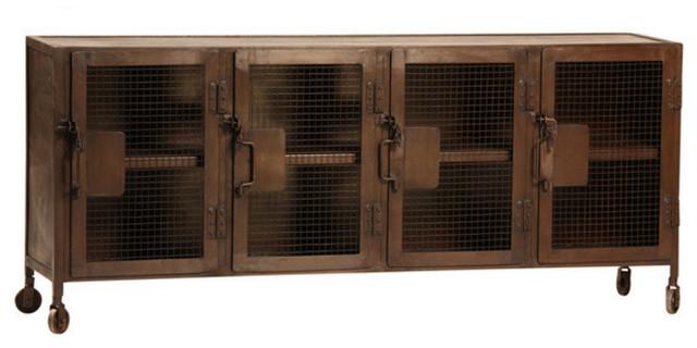 Kenter Industrial Metal Cabinet With Wheels