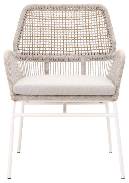 Knit Outdoor Arm Chair, Set of 2