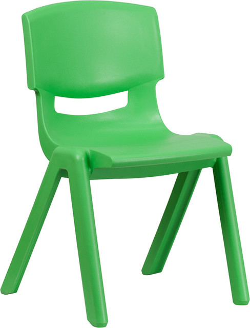 Plastic Stackable Chair With 15.5u0027u0027 Seat Height   Contemporary   Kids Chairs    By Pot Racks Plus