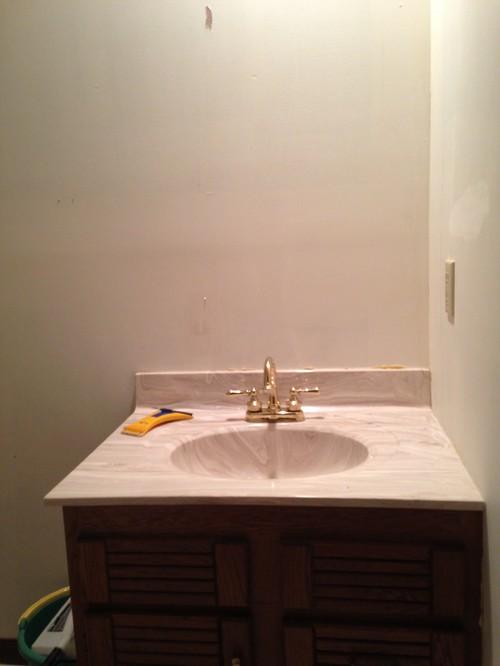 1 Day Bathroom Renovation Need Help
