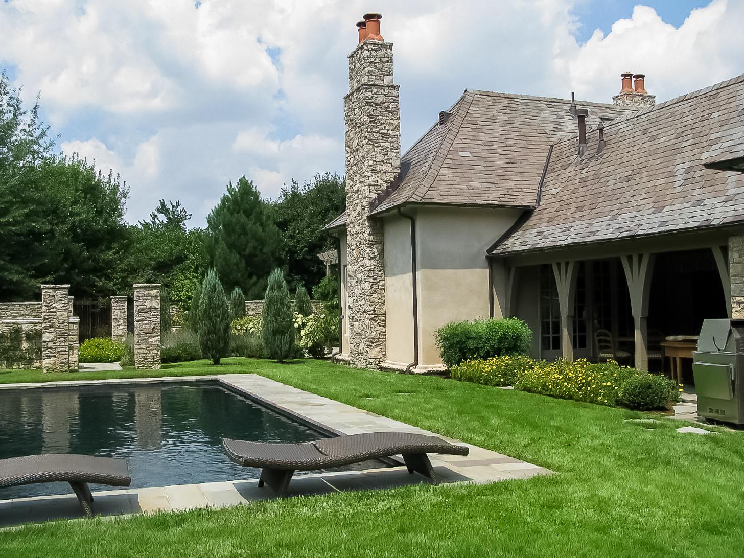 Pool and Interior Garden Area