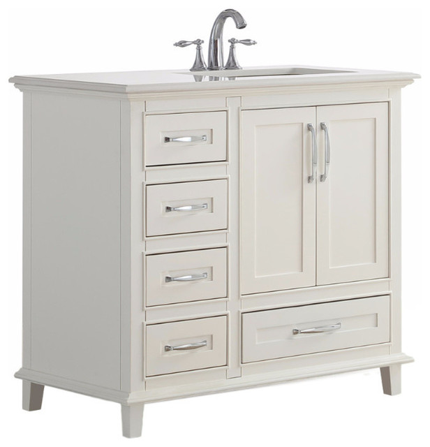 Ariana 36 Quot Traditional Bath Vanity Transitional