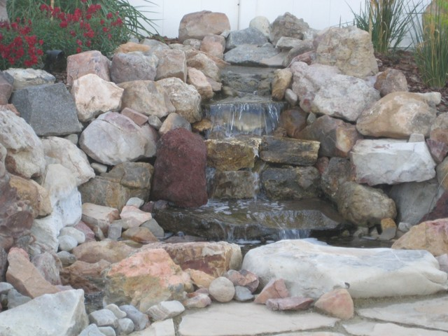 Water Features Salt Lake City By Boulder Mountain Rock