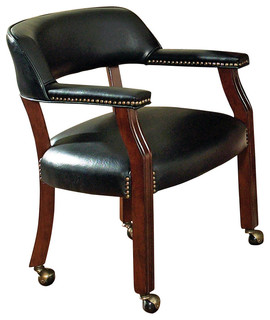 Steve Silver Company   Steve Game Chair, Brown   Dining Chairs