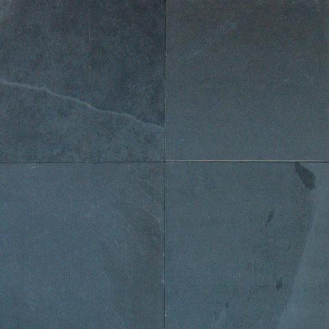 Gauged Montauk Black Slate Tile