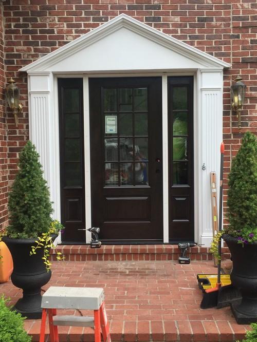 Window Treatment Options For 3/4 Light Door