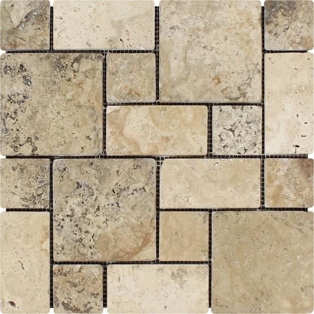 Philadelphia mini pattern mosaic non interlocking for Bathroom tile philadelphia