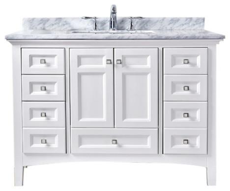 Modern 42 Bathroom Vanity Painting