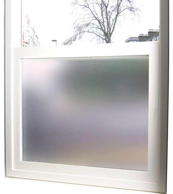 Simply private frosted privacy film 3 ft x 4 ft for 10 ft window blinds