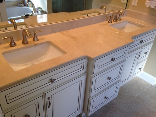 ... would really like to share our recently completed White kitchen Cabinets \u0026 vanities Photos for your reference suggestion and feedback always welcome :) & York Antique White Kitchen And Bath Cabinets Done by Lily Ann Cabinets kurilladesign.com
