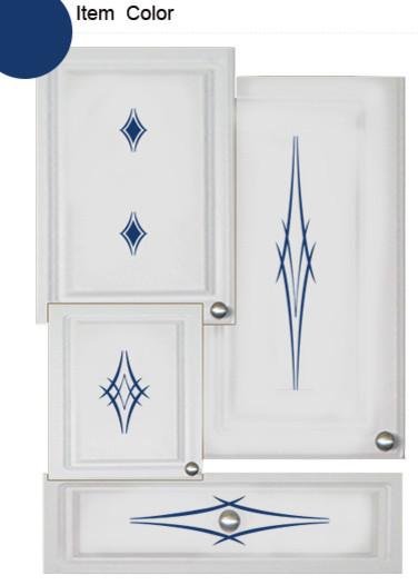 Kitchen Cabinet Decals - Barbs Theme.