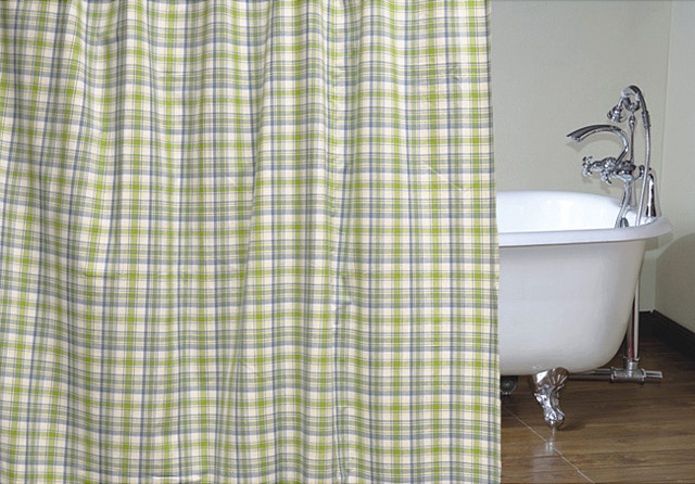 Curtains Ideas » Blue And White Plaid Curtains - Inspiring ... | title | yellow and blue plaid shower curtain