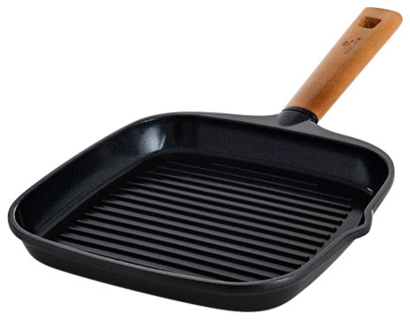 Natur Non Stick Grill Pan Contemporary Griddles And Grill Pans By Maximahouse