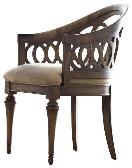 Hooker Furniture Melange Cambria Chair Traditional Dining Chairs
