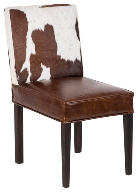 Tremendous Modern Cowhide Dining Chair Set Of 6 Bralicious Painted Fabric Chair Ideas Braliciousco
