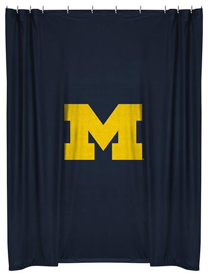 Team Curtains Teamcurtainscom: NCAA Sports Team Shower Curtain, Michigan St
