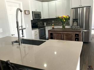 Kitchen Countertops Stellar Gray Quartz